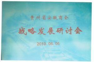 贵州省安徽jbo首次经济发展战略研讨会
